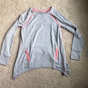Girls grey pullover